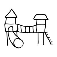 Jungle Gym Png Black And White & Free Jungle Gym Black And
