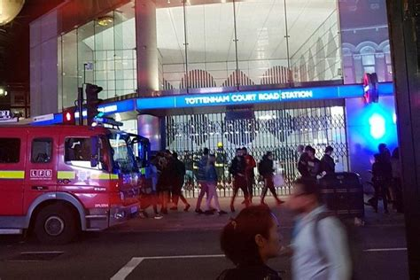 Tottenham Court Road: Man dies after being hit by Central