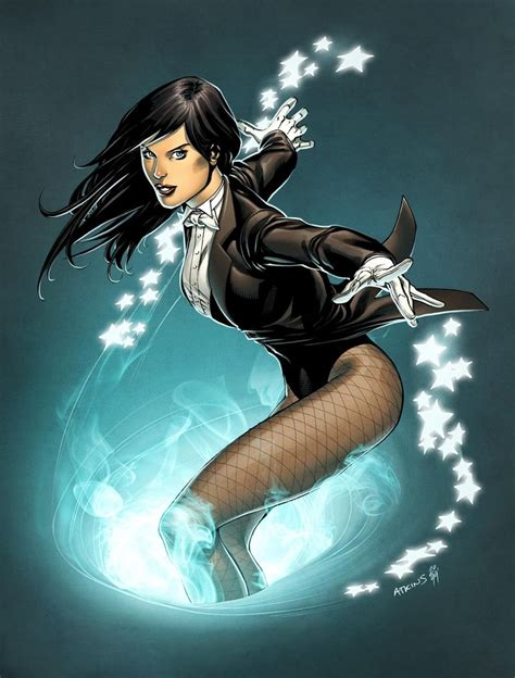 37 Hot Pictures Of Zatanna – The Beautiful Magician And